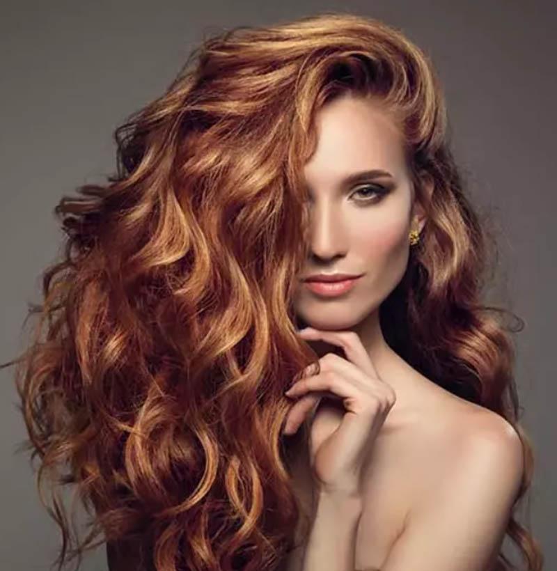 Kiểu tóc uốn xoăn nhẹ nhàng
