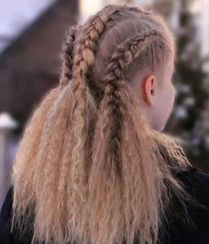 Bím tóc Viking