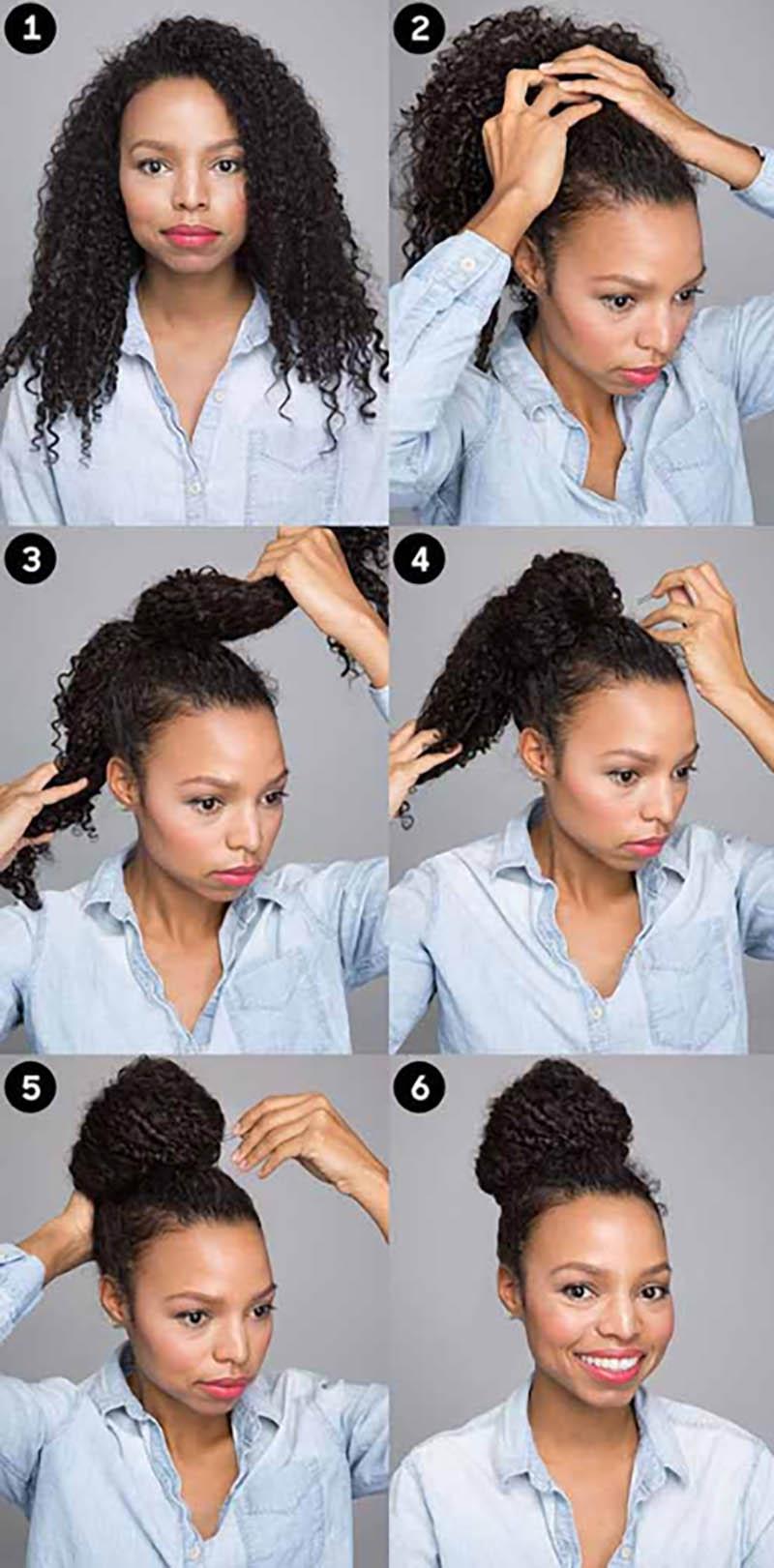 Cách tạo kiểu tóc xoăn đỉnh