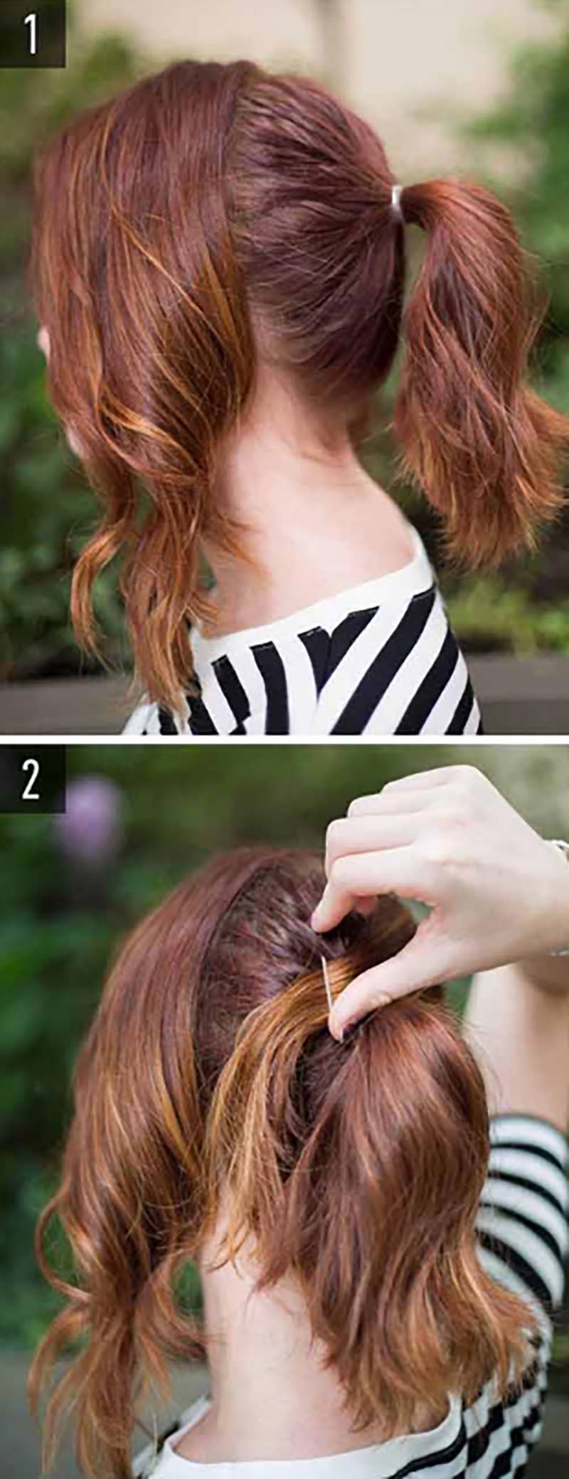 Kiểu tóc đuôi ngựa cổ điển