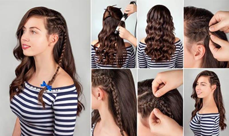 Bím tóc dài một bên