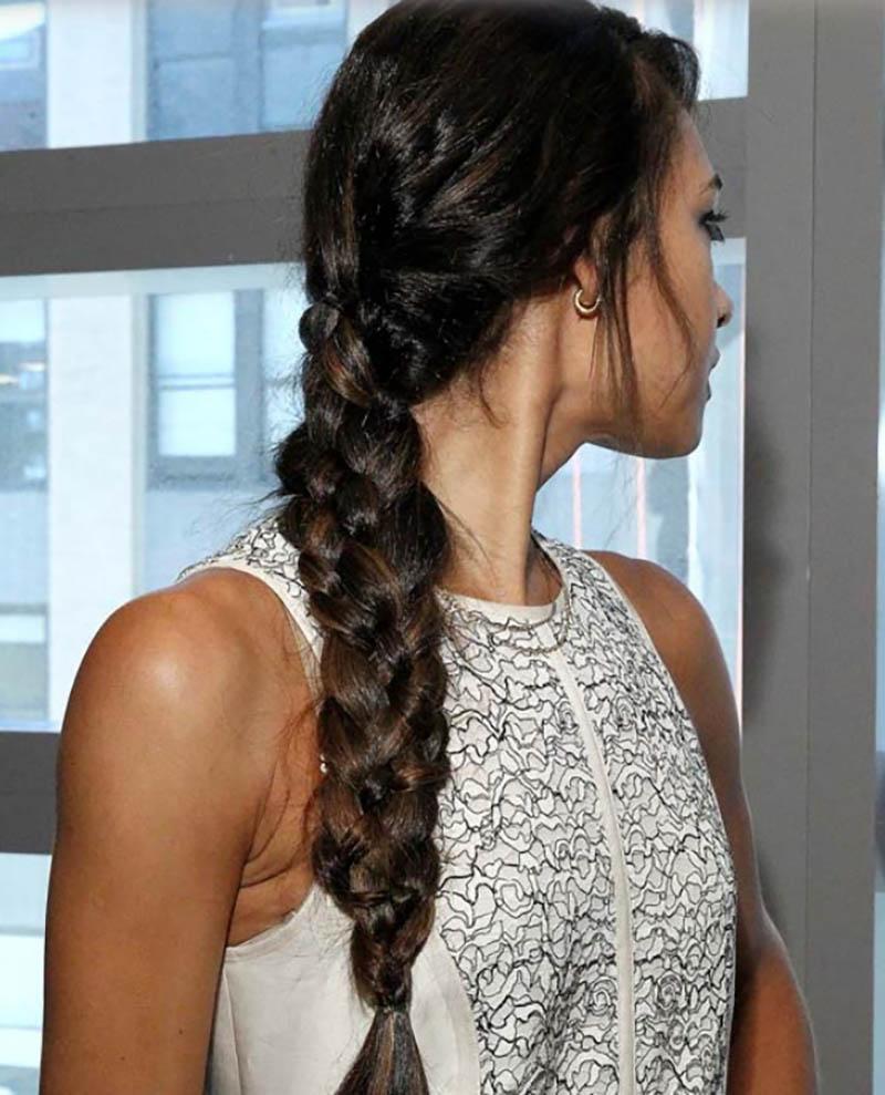 Tết tóc bím kiểu Pháp