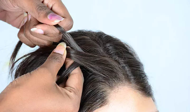 Cách tết tóc mái đẹp và chi tiết nhất giúp nàng thêm xinh bước 2