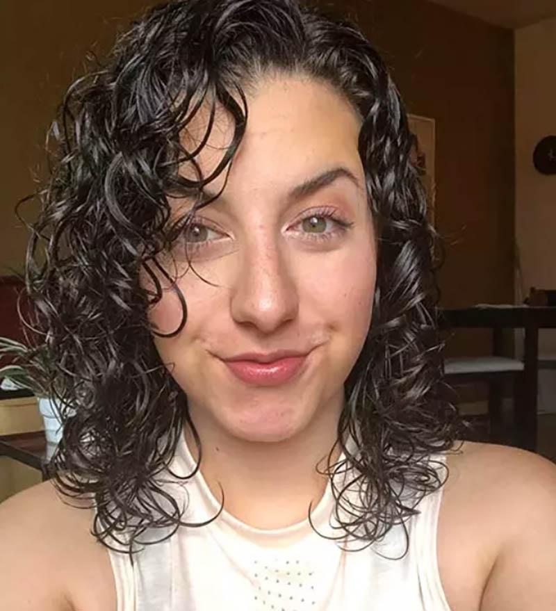 Kiểu tóc bob xoăn định hình
