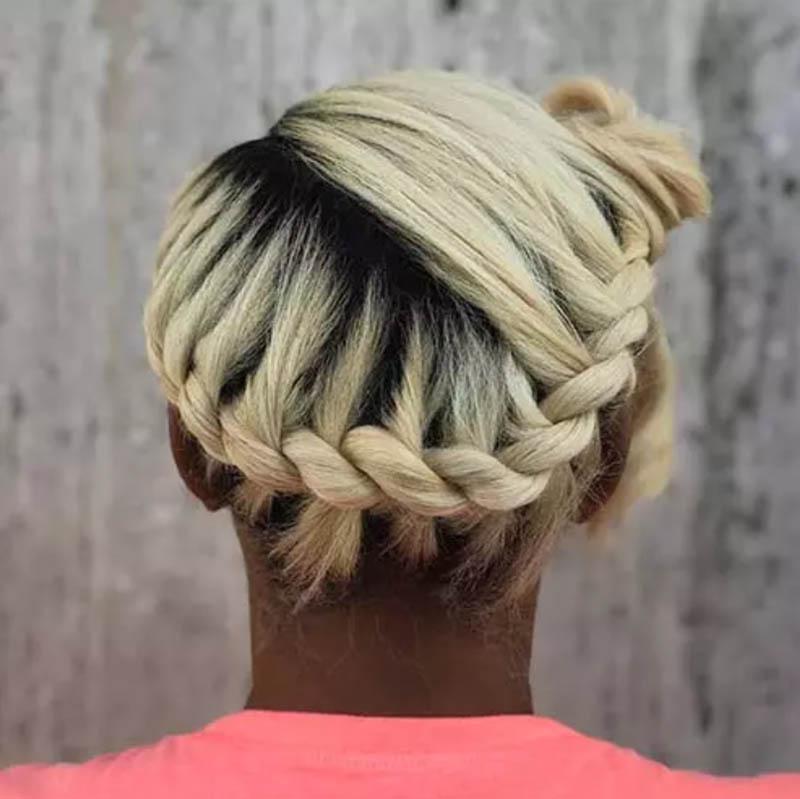Dải tóc bện thác nước