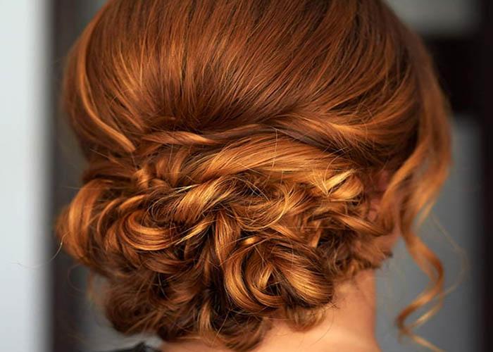 40 Kiểu tóc Updo cho mái tóc dài trung bình