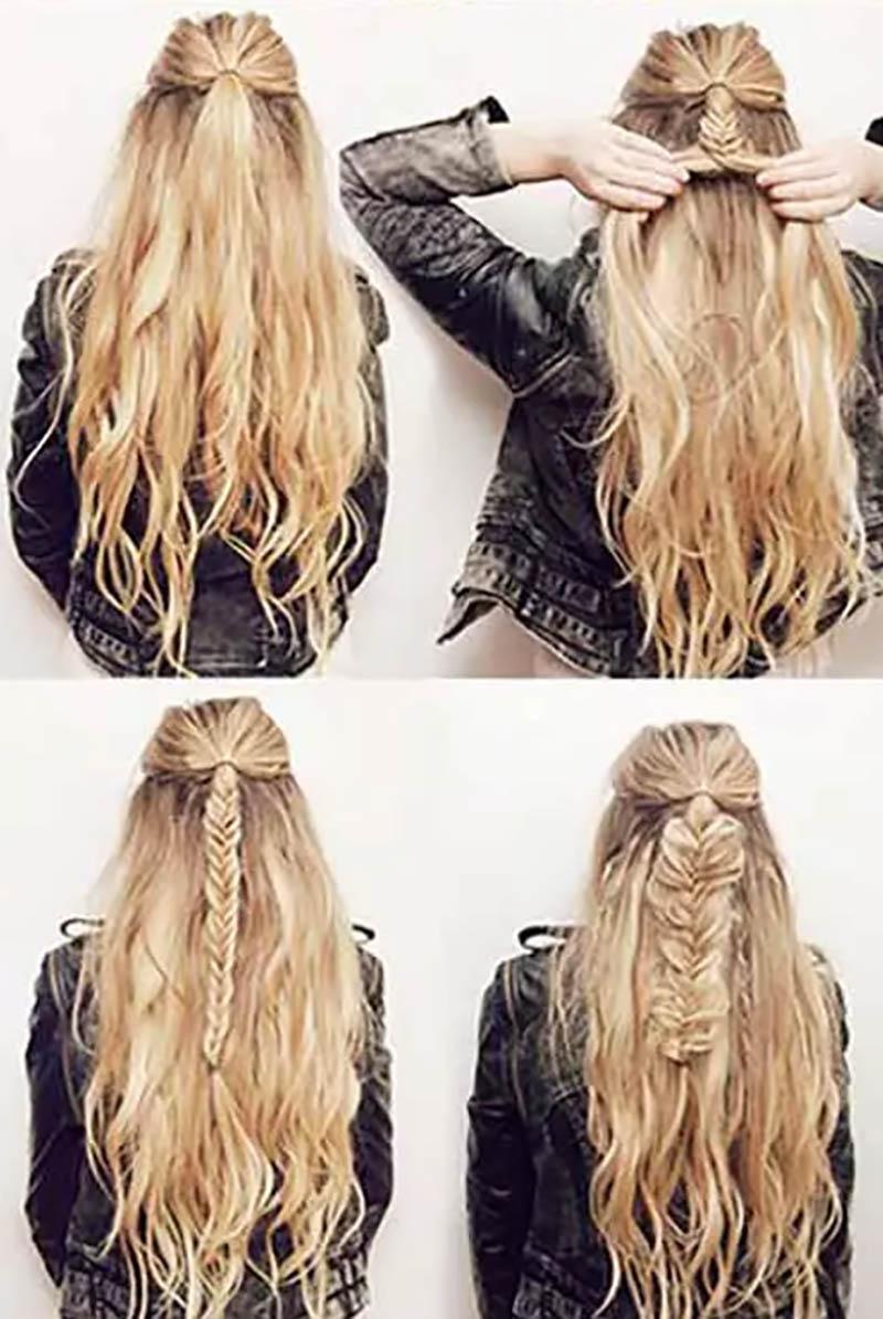 Bím tóc đuôi cá