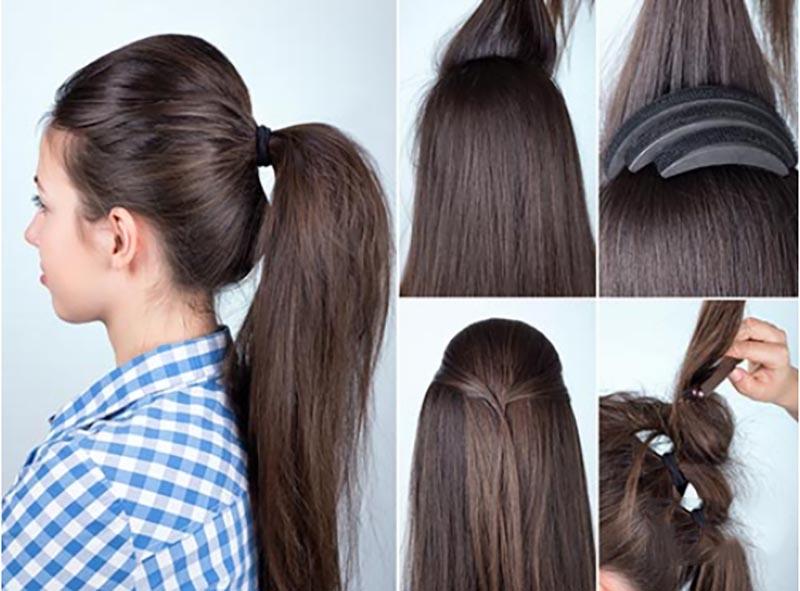 Búi tóc đuôi ngựa