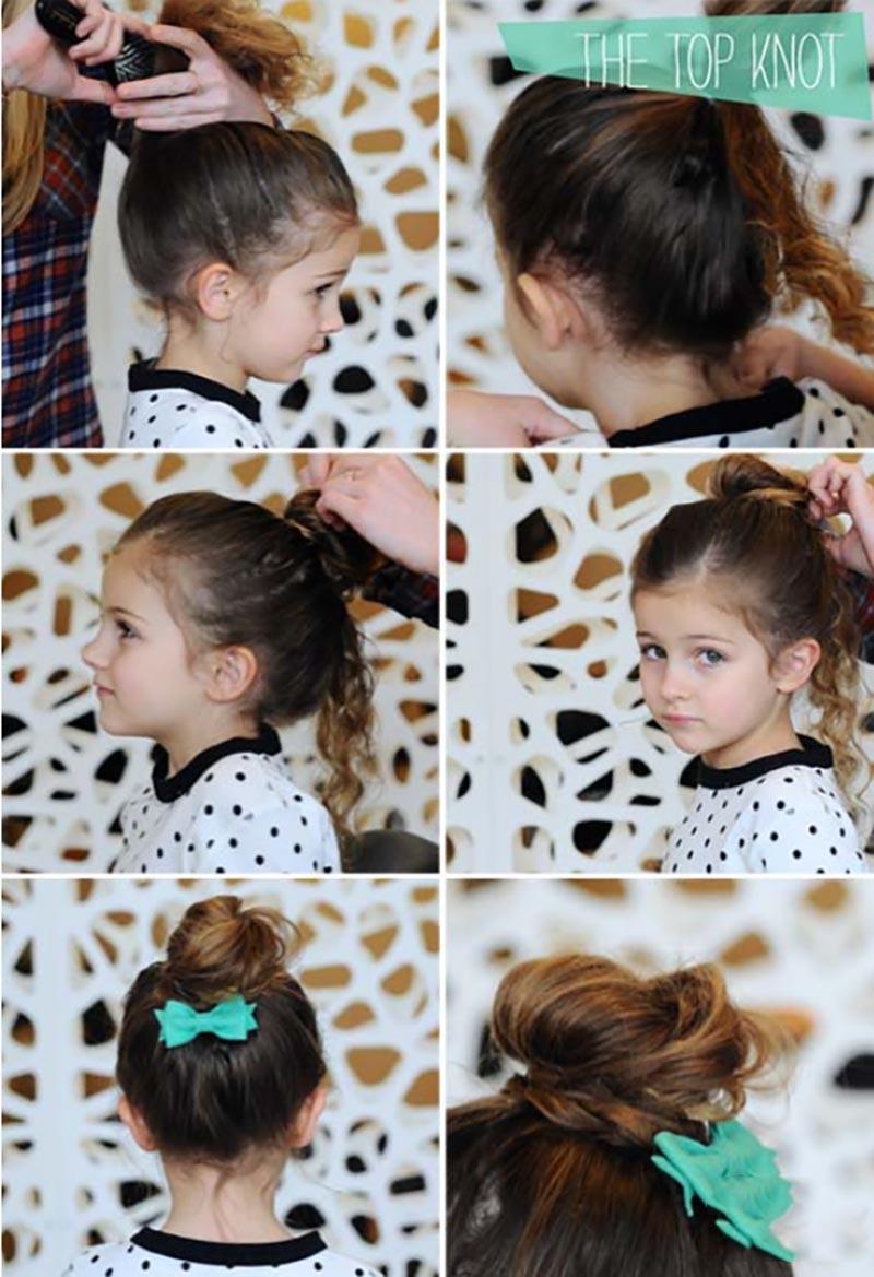 Búi tóc kiểu bale