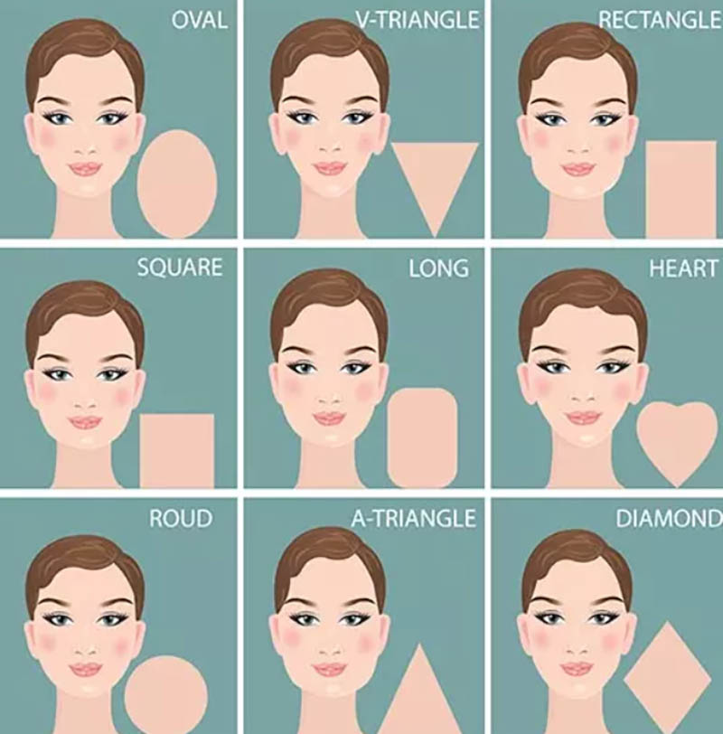Cách chọn tóc mái theo hình dạng khuôn mặt
