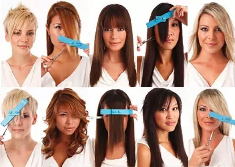 Cách để cắt tóc mái đẹp