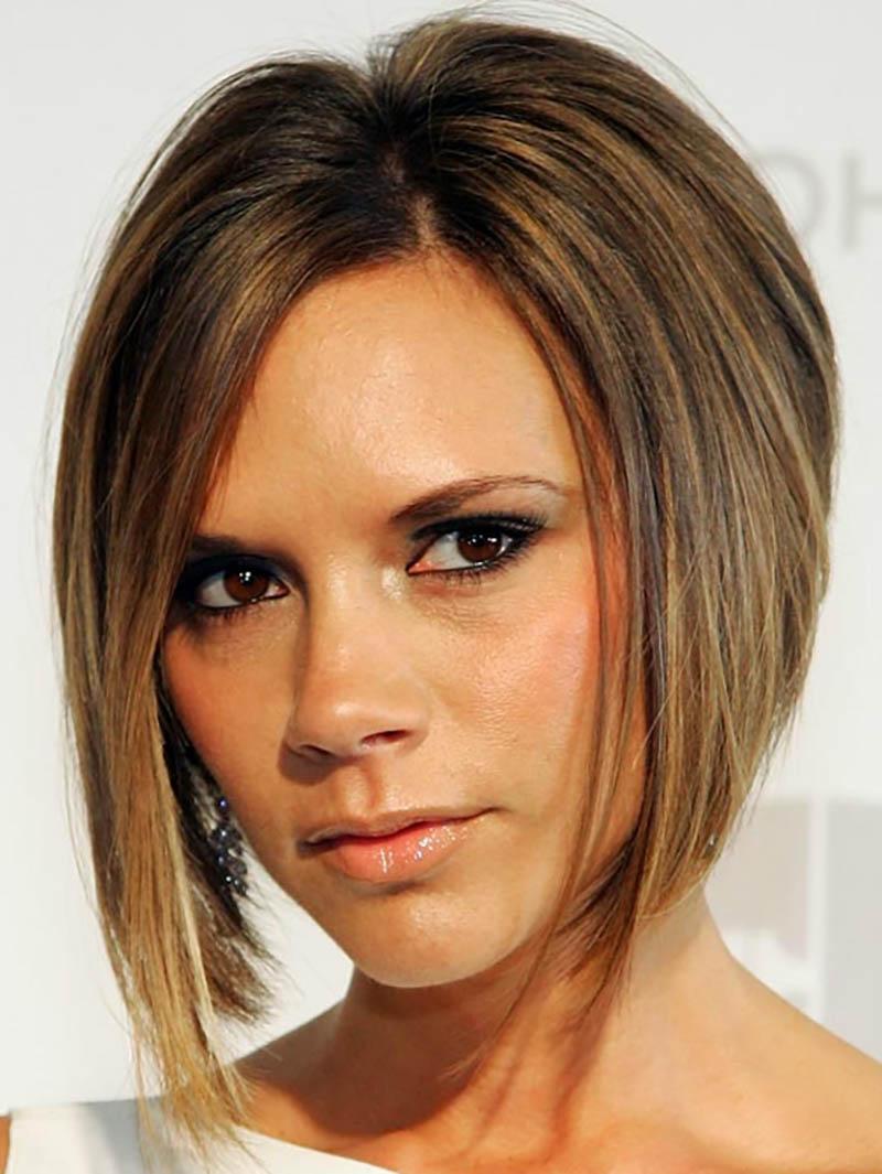 Kiểu 7: Rìa tóc phía trước dài