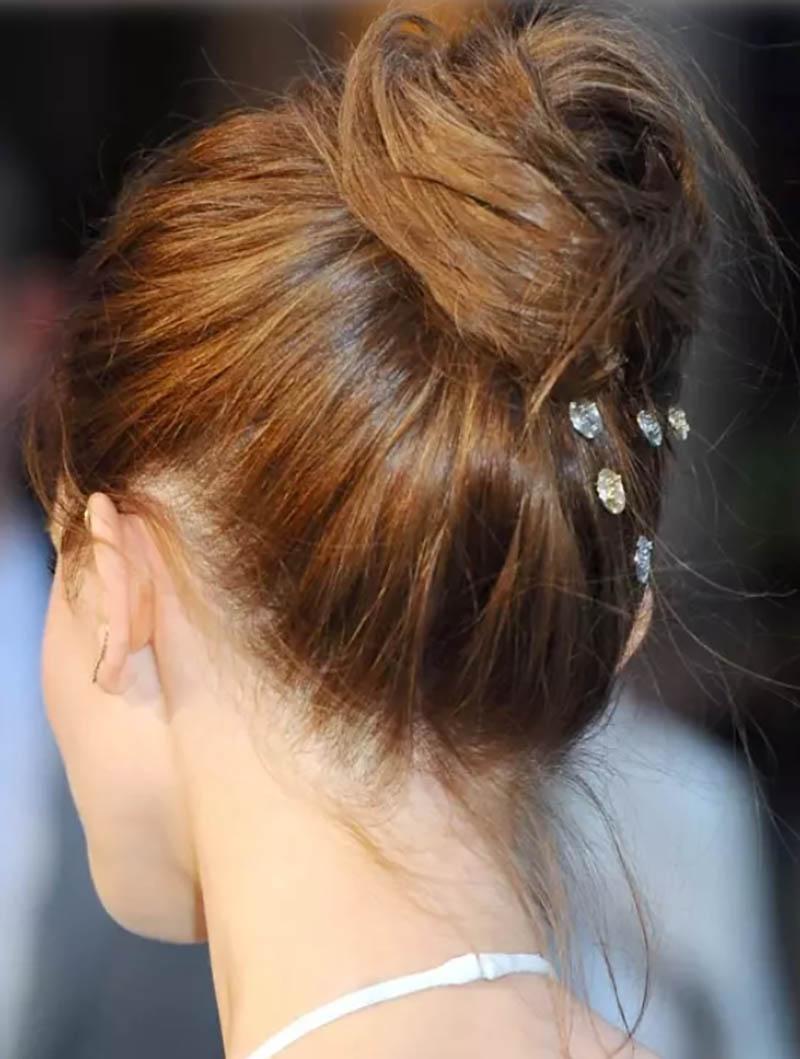 Kiểu tóc búi truyền thống