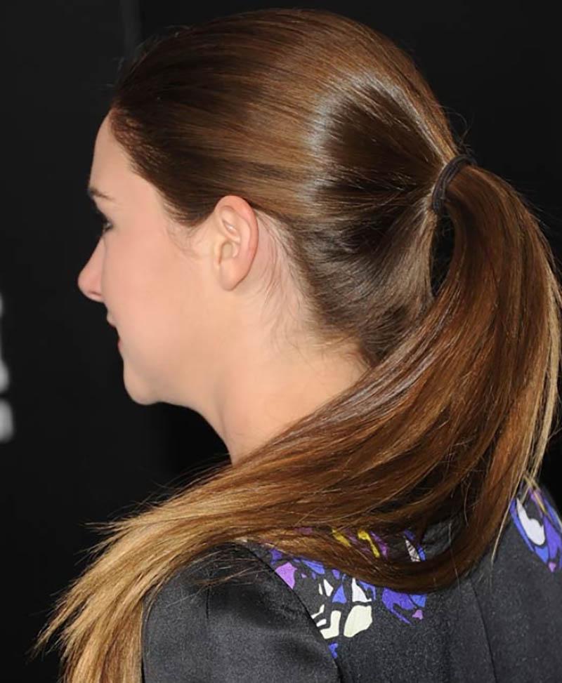 Kiểu tóc đuôi ngựa tỉa lớp mượt mà
