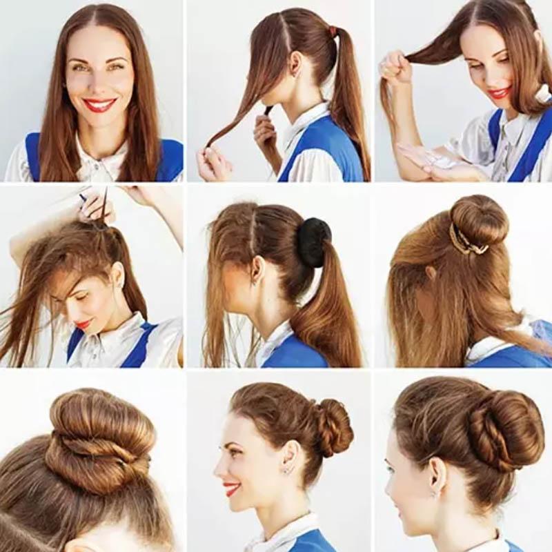 Kiểu tóc Elegant Bun