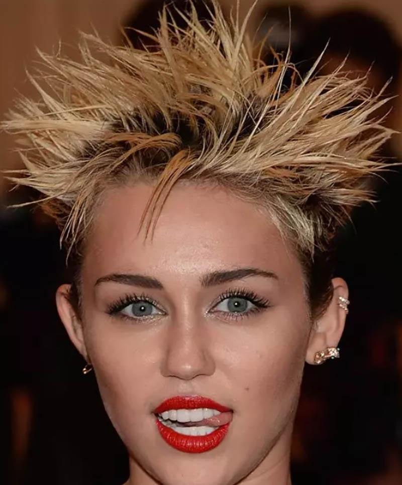 Kiểu tóc gai nhọn tự nhiên