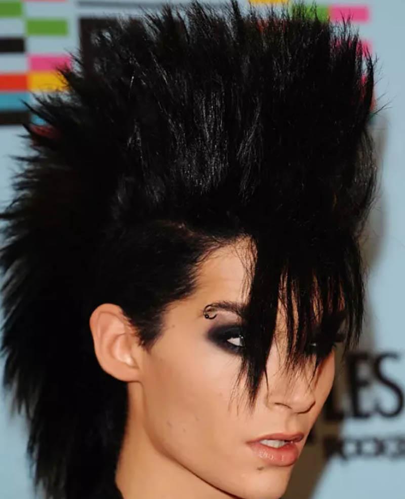 Kiểu tóc ngắn vuốt ngược