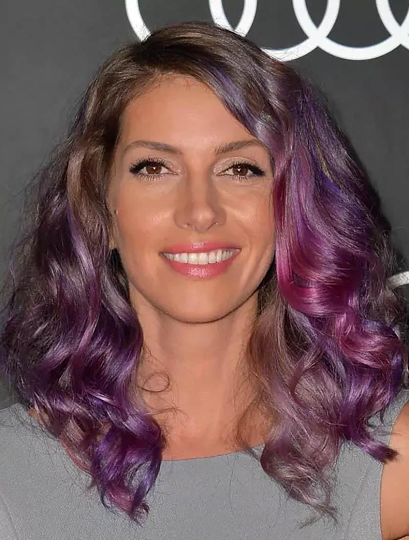 Kiểu tóc tỉa layer màu sắc