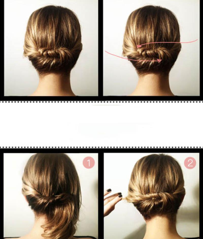 Kiểu tóc Updo lãng mạn