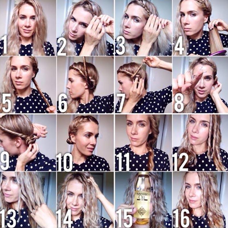 Kỹ thuật búi tóc công chúa Leia