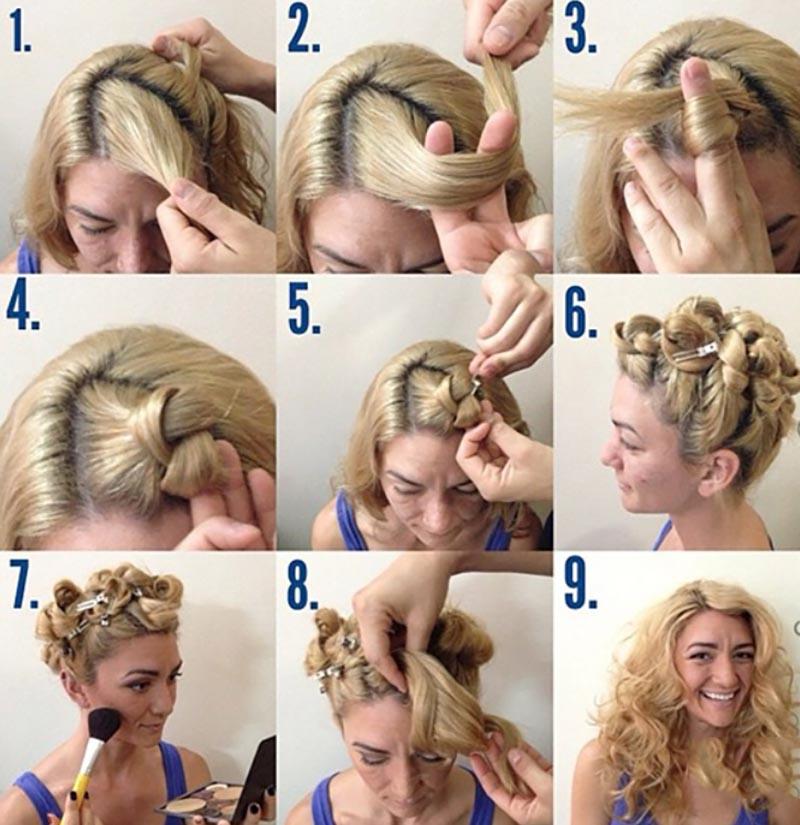 Kỹ thuật thắt nút tóc