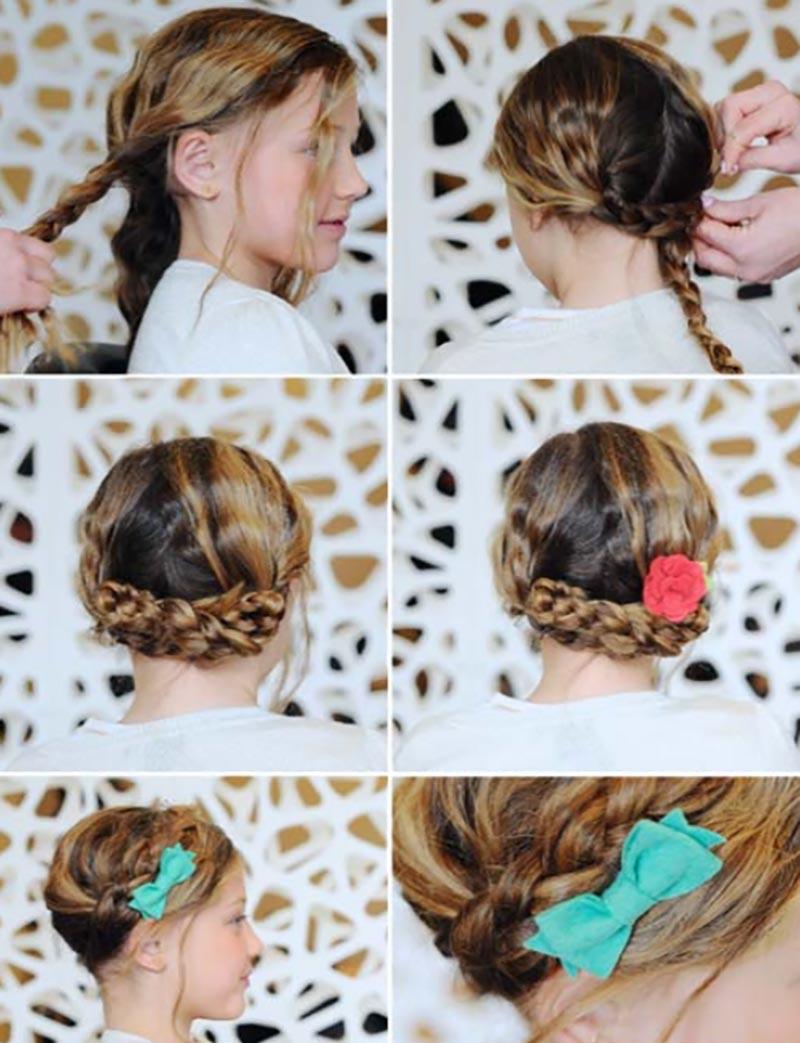 Tết tóc 2 chiều