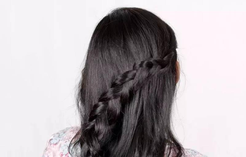 Hướng dẫn cách tết tóc kiểu Hà Lan cực đẹp 1