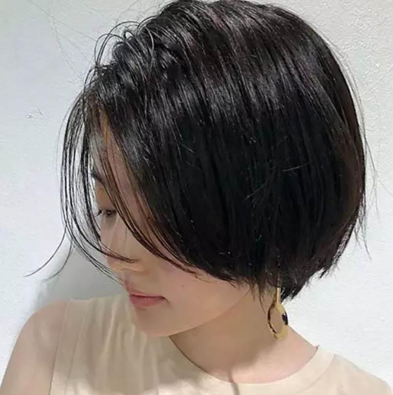 Kiểu tóc cắt lớp dần dần theo phong cách Pixie