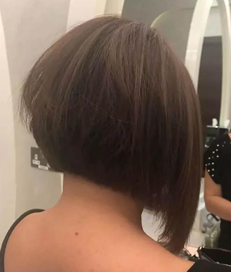 Tóc cắt dài dần