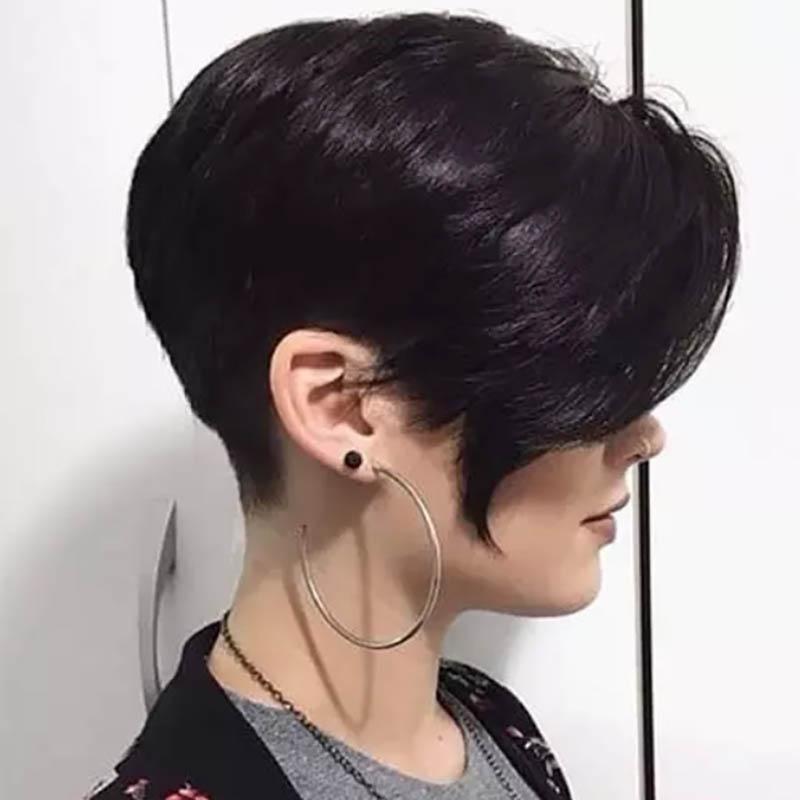 Kiểu tóc bangs pixie nhiều lớp