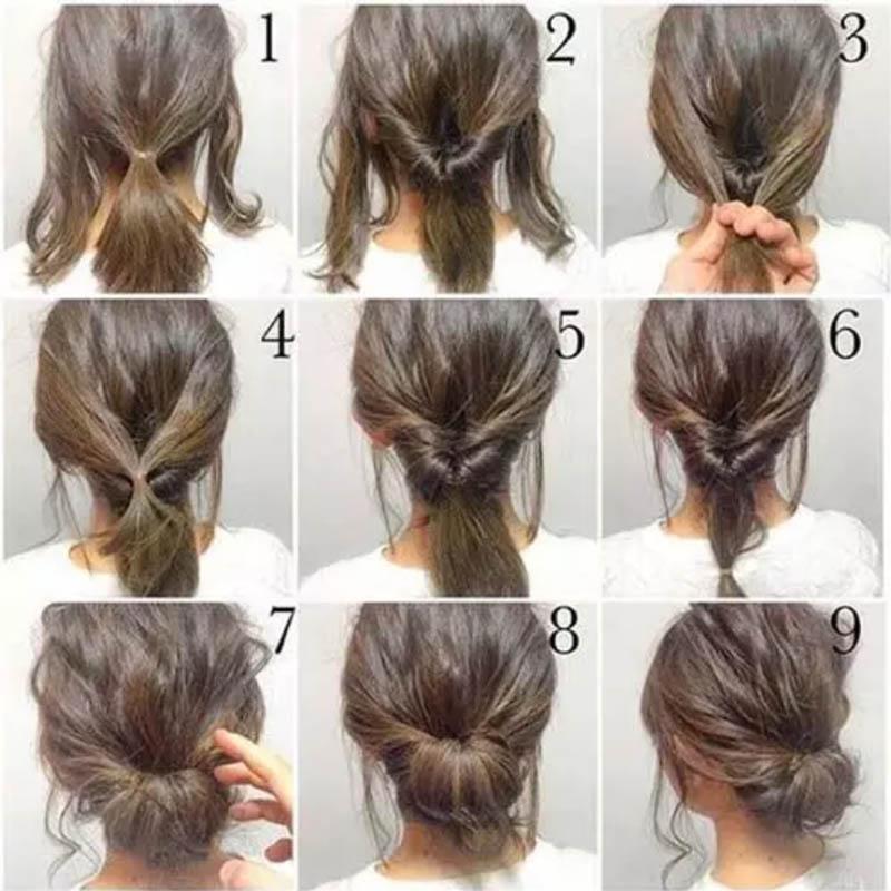 Búi xoắn tóc