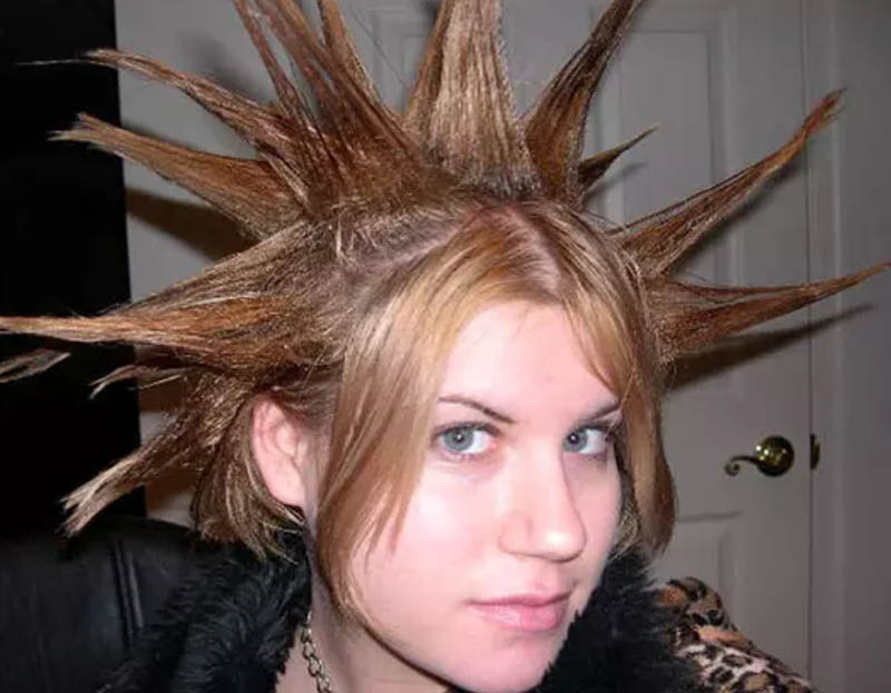 Tóc Spiky kiểu Nữ thần tự do