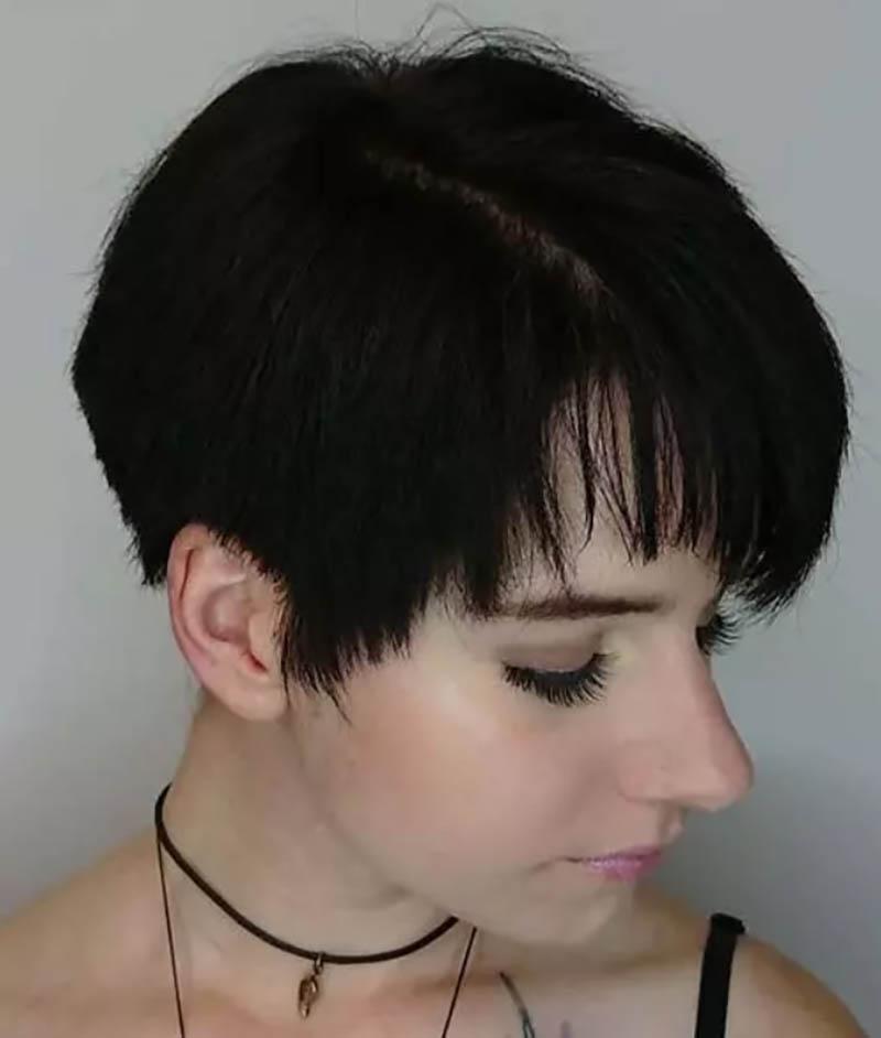 Kiểu tóc theo phong cách Pixie nhiều lớp