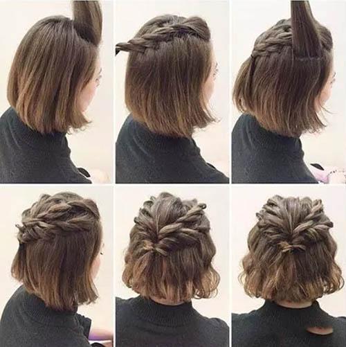 Kiểu tóc đuôi ngựa xoắn