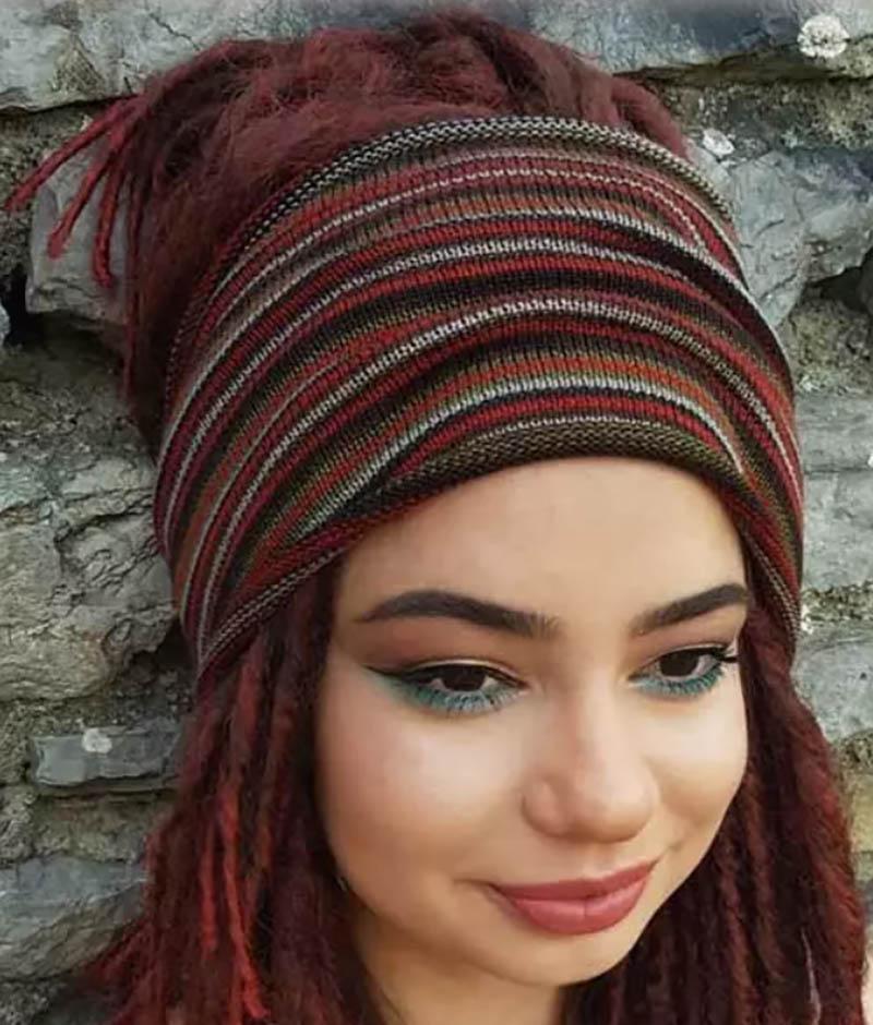 Quấn khăn quanh đầu
