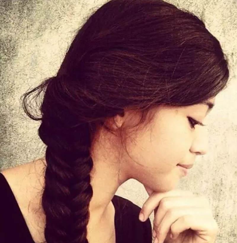 Bím tóc đuôi cá cổ điển
