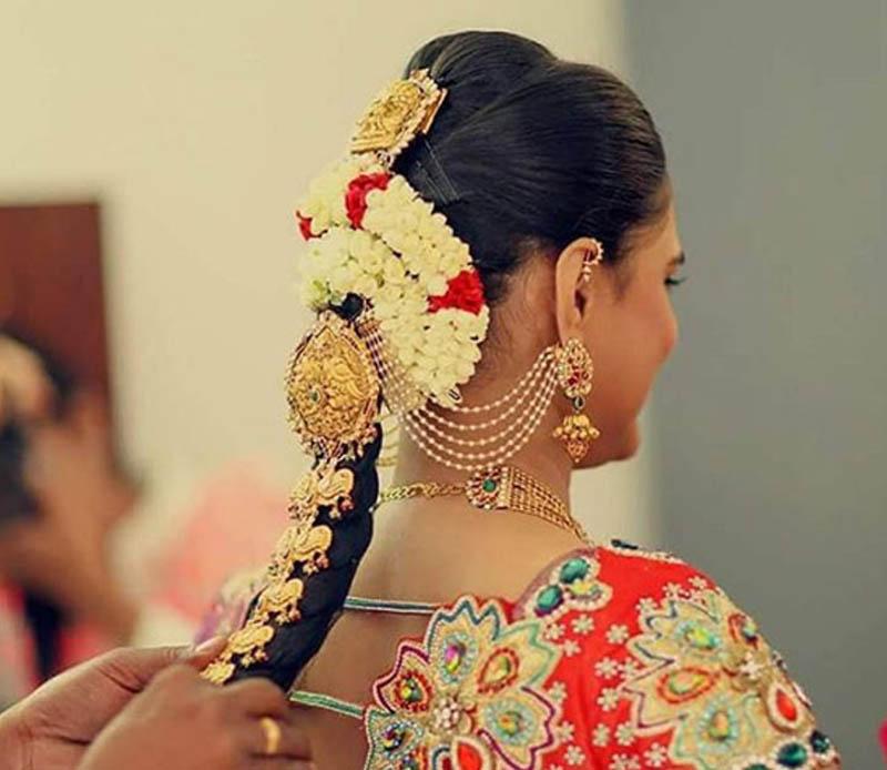 Tóc tết kiểu Nam Ấn Độ