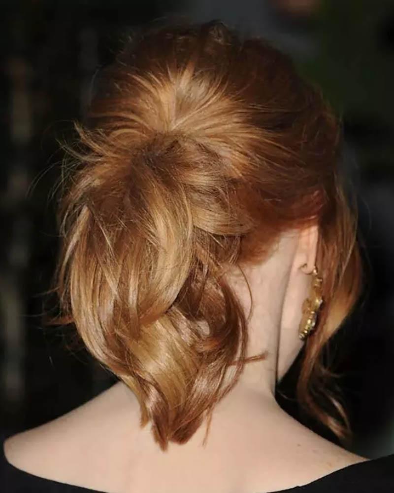 Tóc đuôi ngựa tỉa nhiều hướng
