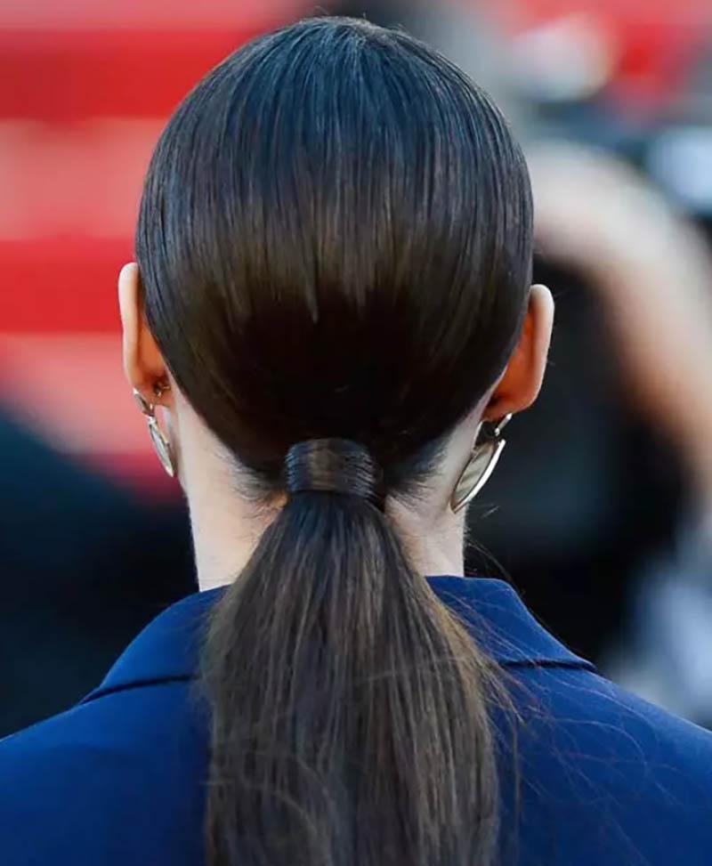 Tóc đuôi ngựa thấp