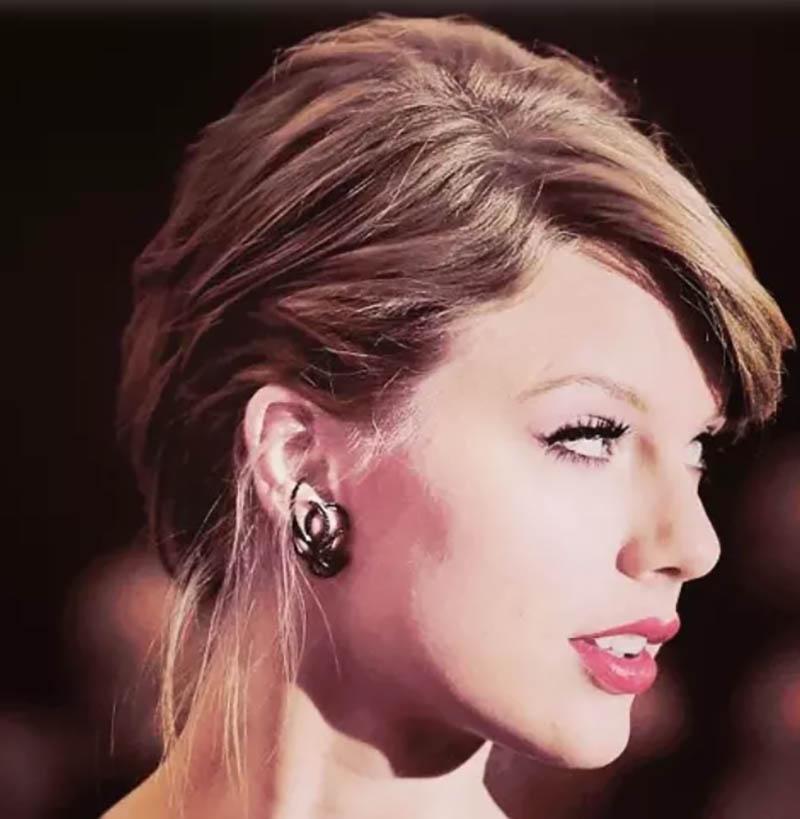 Kiểu tóc mang phong cách Taylor