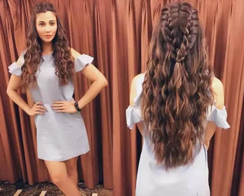 Tết tóc xoăn kiểu nàng tiên cá