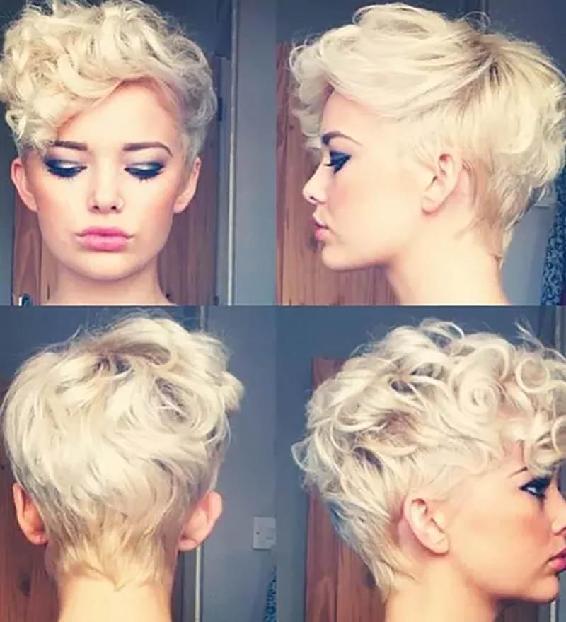 Chia tóc lệch về 1 bên