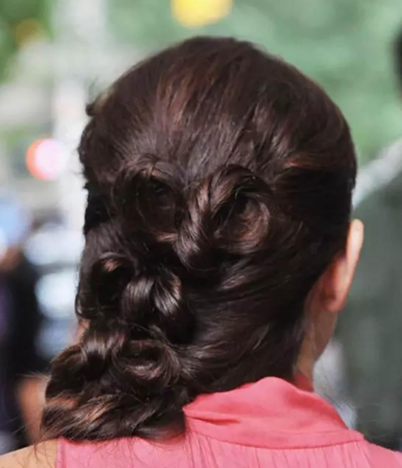 Kiểu tóc xoăn độc đáo