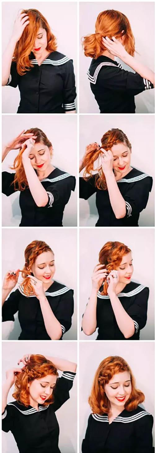 Tết tóc đơn giản