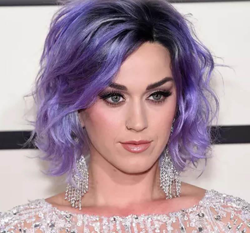 Màu tóc tím Lilac