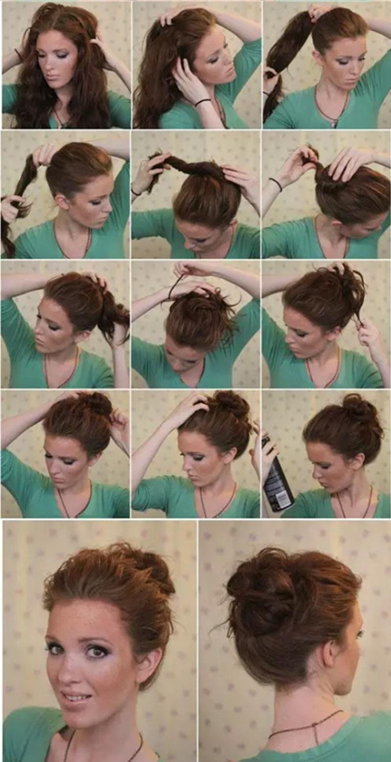 Búi tóc củ tỏi