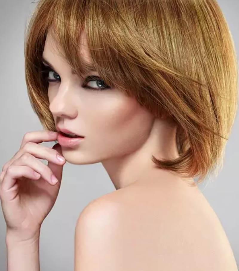 Kiểu tóc ngắn đuôi tóc cắt layer