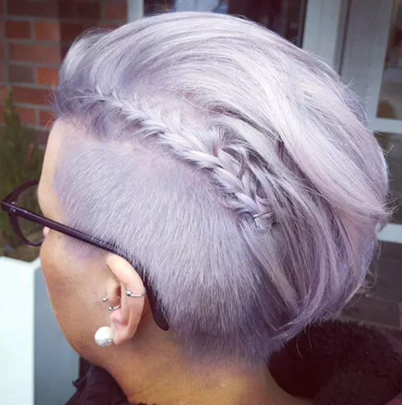Undercut kết hợp tết tóc