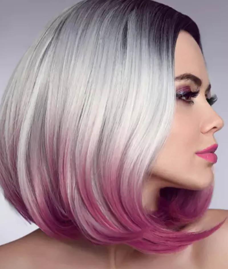 Kiểu tóc bob bất đối xứng