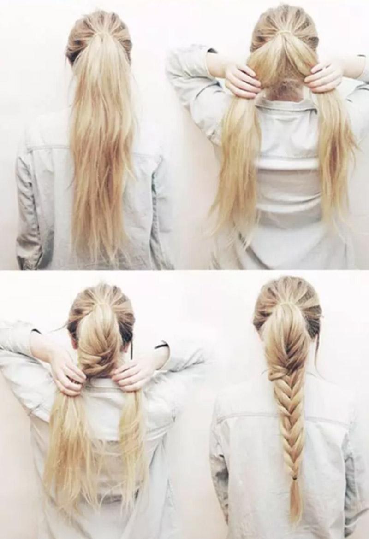 Bím tóc đuôi ngựa to